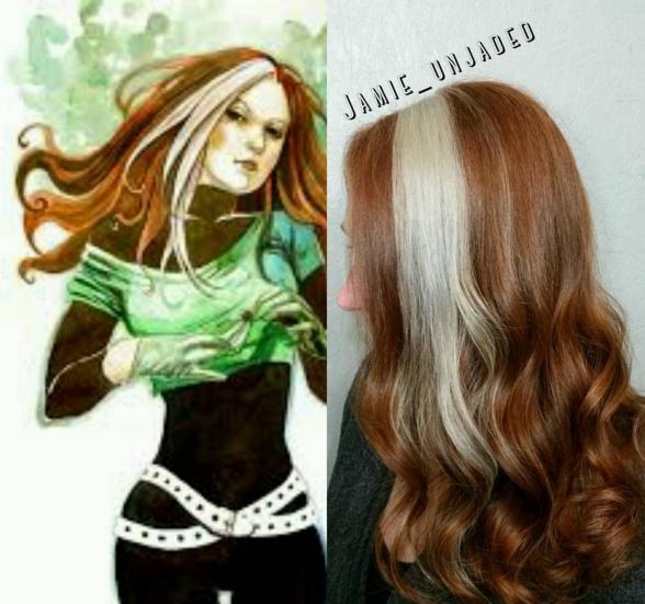 penteados de cabelos inspirados em super heróis e vilões 7