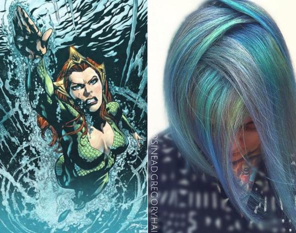 penteados de cabelos inspirados em super heróis e vilões 8