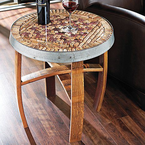 rolha de vinho na decoração mesa