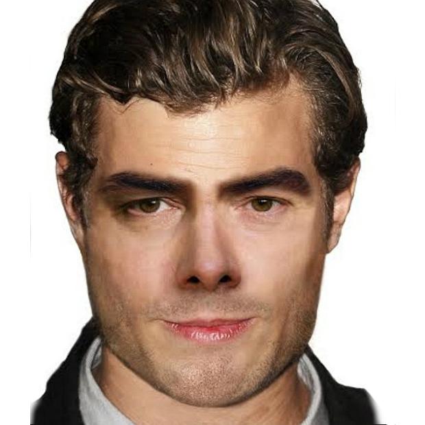 rosto do homem ideal