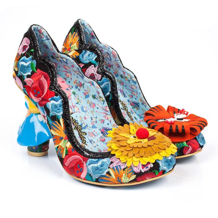 sapatos inspirados no filme Alice no país das maravilhas  2