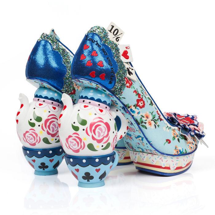 sapatos inspirados no filme Alice no país das maravilhas  3