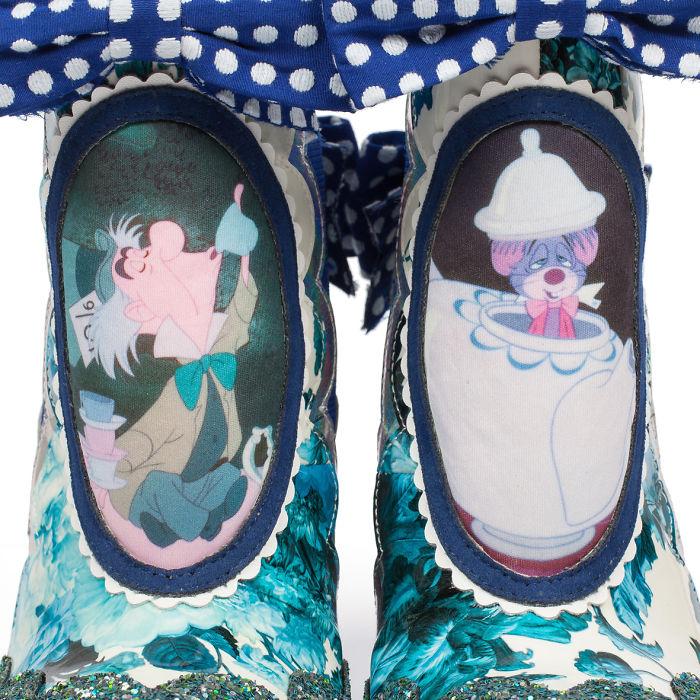 sapatos inspirados no filme Alice no país das maravilhas  5