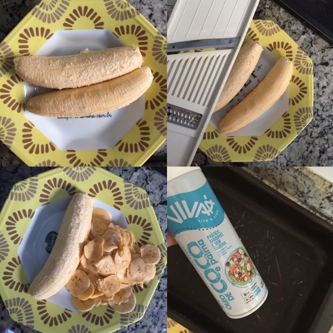 como fazer chips de banana da terra em casa