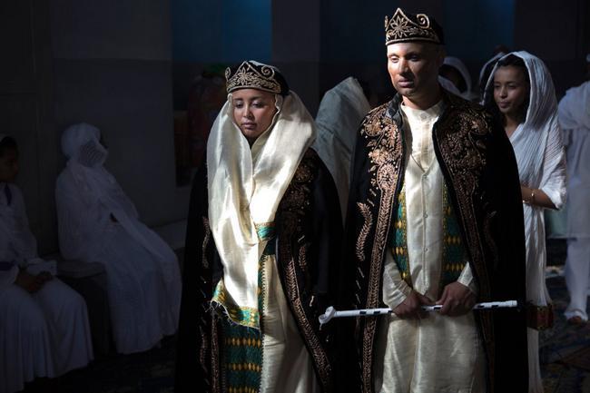 vestido de casamento na Eritreia