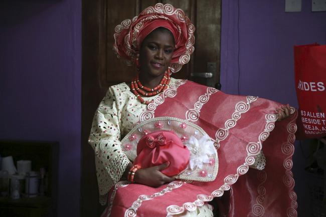 vestido de casamento na nigéria