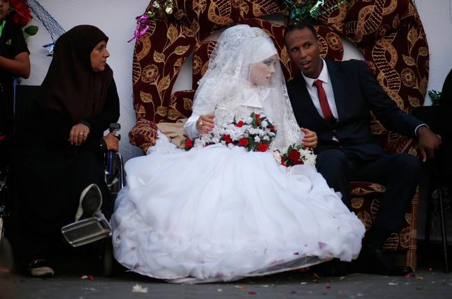 vestido de casamento na palestina