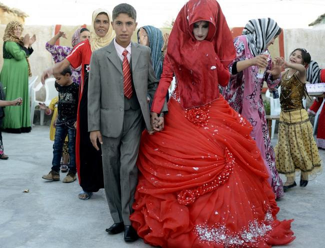 vestido de casamento no Iraque