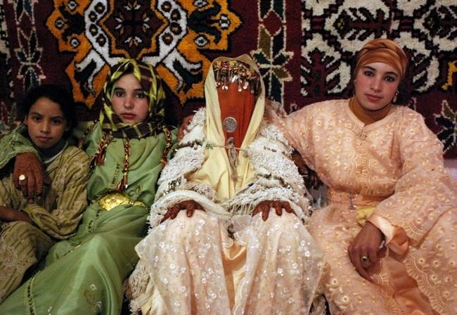vestido de casamento no marrocos