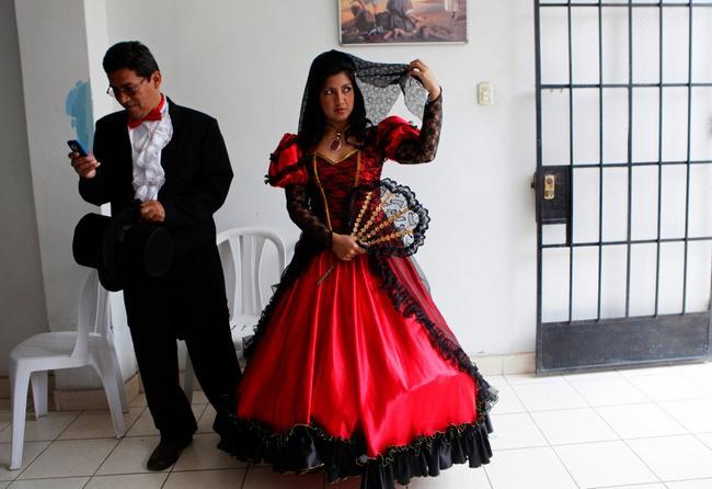 vestido de casamento no peru
