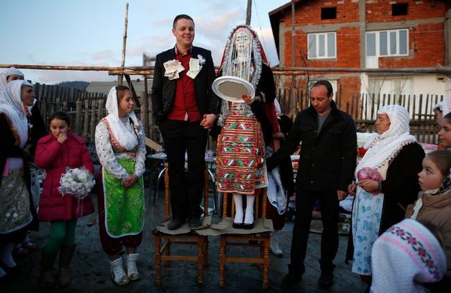 vestido de noiva Bulgária