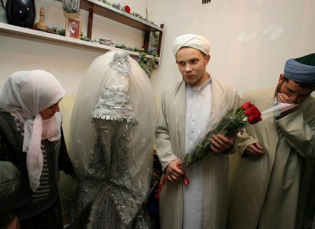 vestido de noiva na Tajiquistão