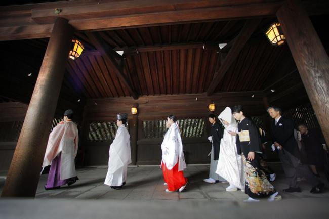vestido de noiva no japão