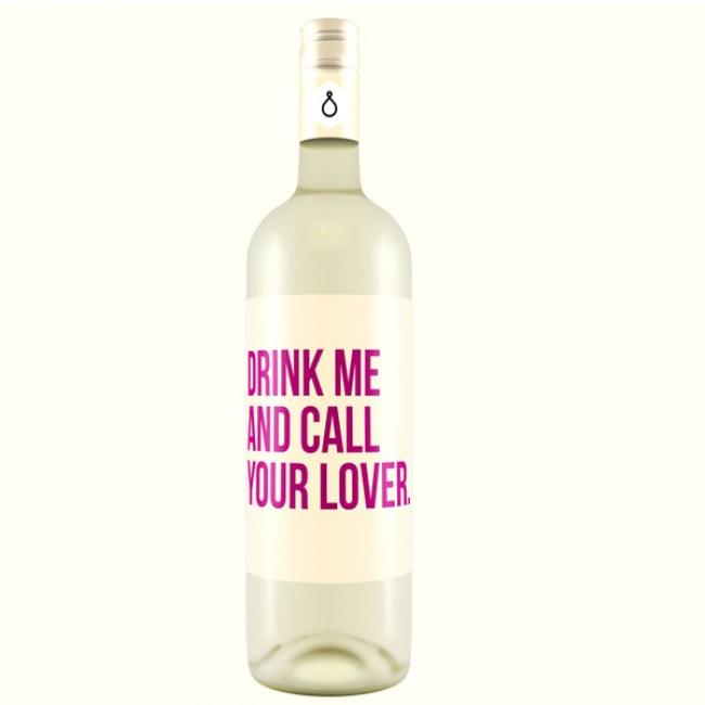 Beba-me e ligue para o seu amor