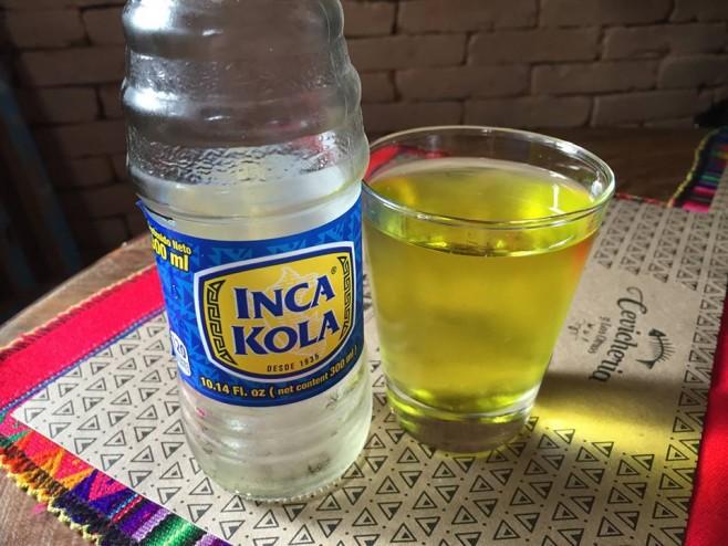O famoso refrigerante do Peru