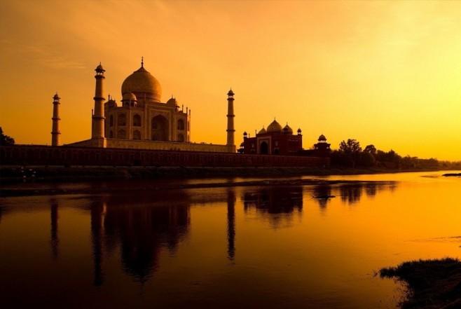 Taj Mahal – Agra, Índia