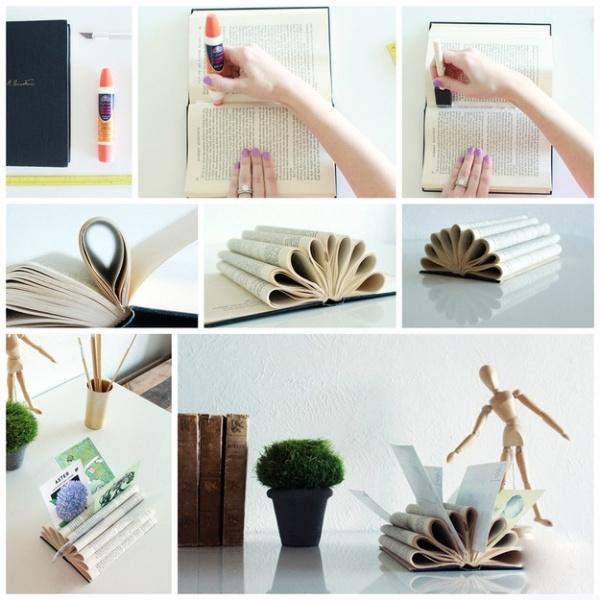 ideia de decoração para guardar cartas