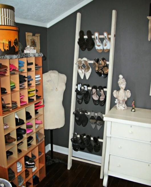 ideias para guardar sapatos