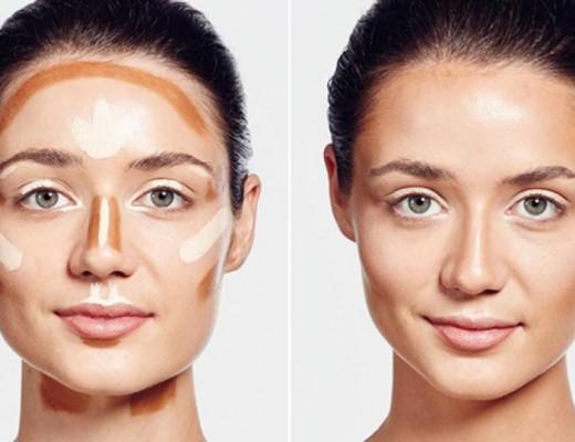 maquiagem de contorno