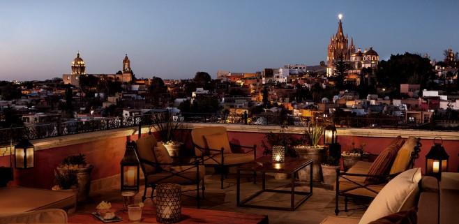 rooftop Luna Rooftop Tapas Bar – San Miguel de Allende – México