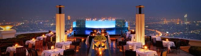 rooftop Sirocco Sky Bar – Banguecoque – Tailândia