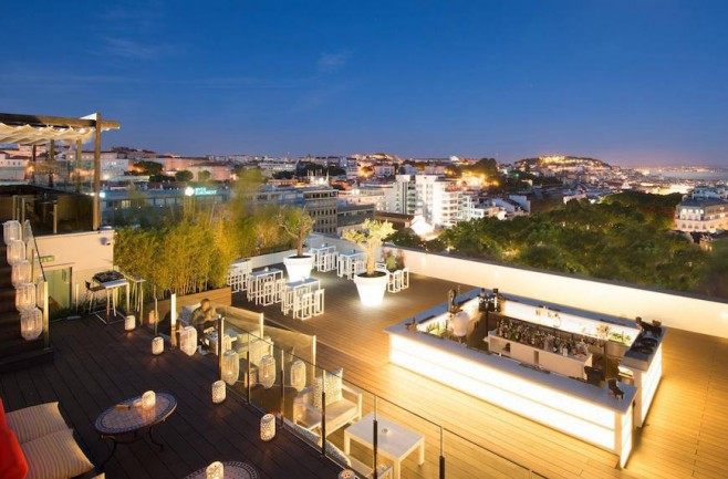 rooftop Sky Bar – Lisboa – Portugal