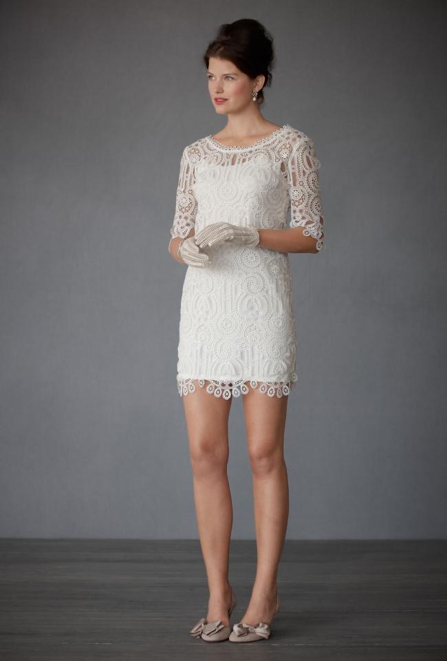 Vestido de noiva curto bh