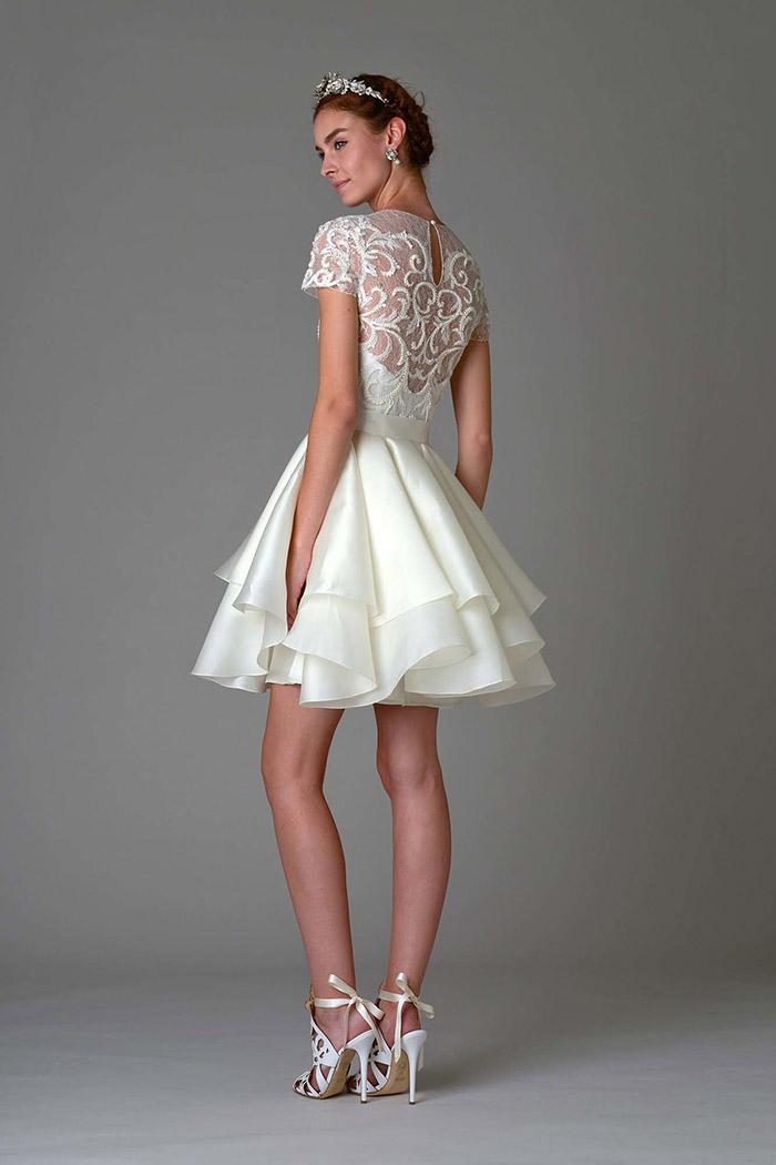 64 vestidos de noiva curtos e lindos