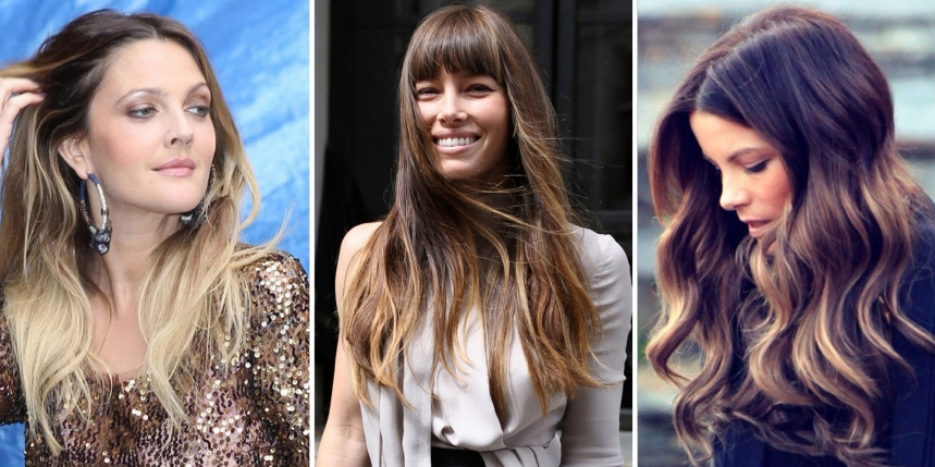 Mechas Ombré Hair, texana e californianas 80 fotos para inspirar