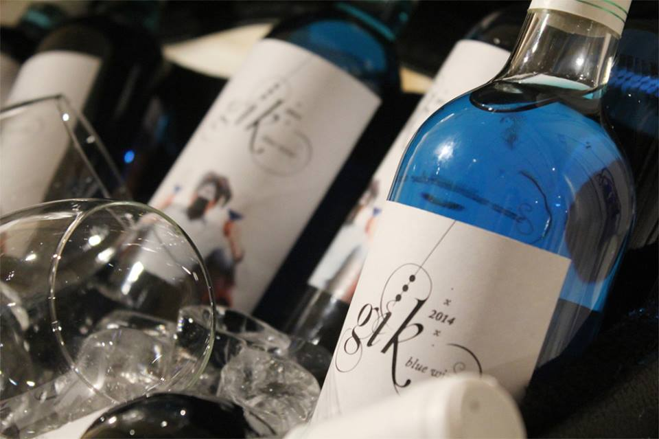 Primeiro Vinho AZUL do Mundo