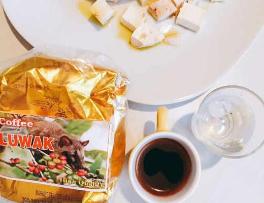 caf mais caro do mundo Kopi luwak