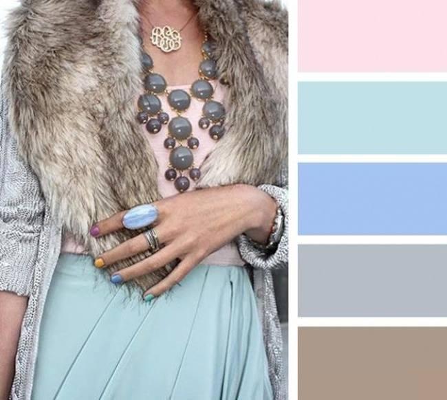 como combinar cores com azul bebê
