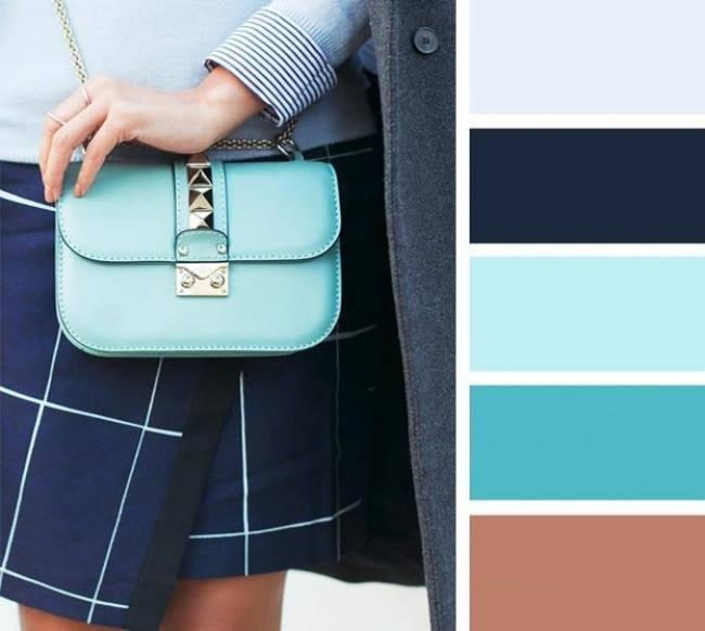 como combinar cores em looks