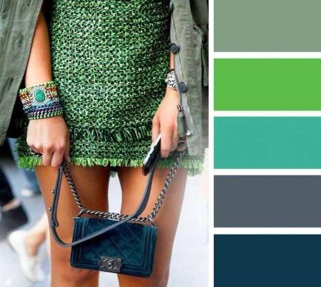 como combinar cores no outono inverno