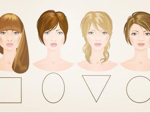 franja ideal para cada formato de rosto