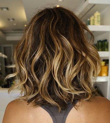 ombré hair cabelo curto