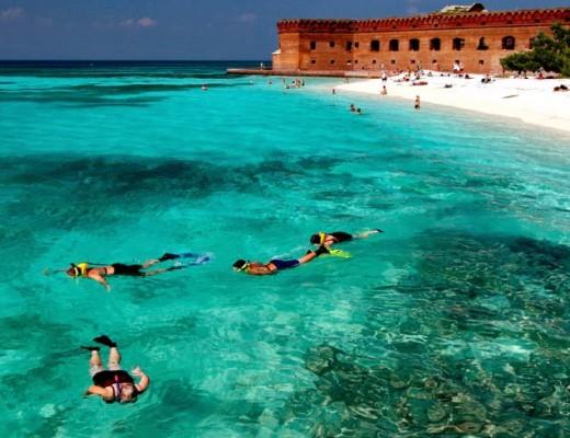 praia Key West na flórida