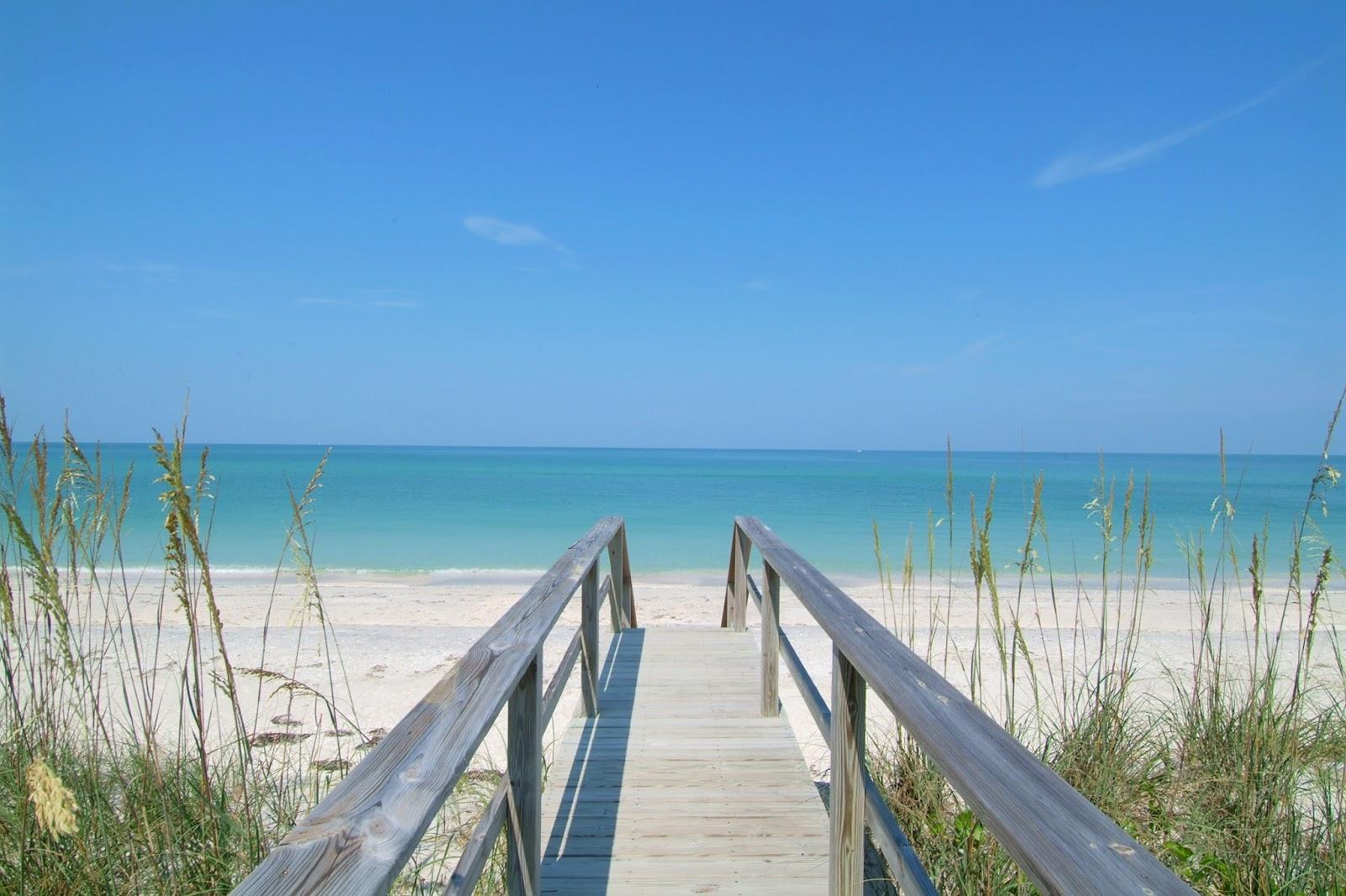 praia Siesta Key na flórida