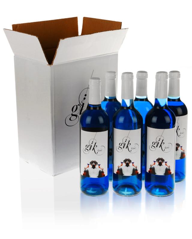 vinho azul novidade no mercado