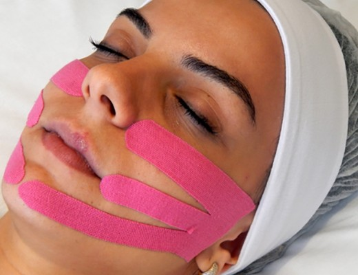 miotaping massagem rejuvenescedora facial