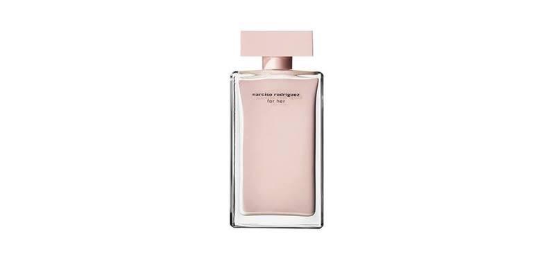 perfume feminino Narciso Rodriguez for Her (2003, Narciso Rodriguez).
