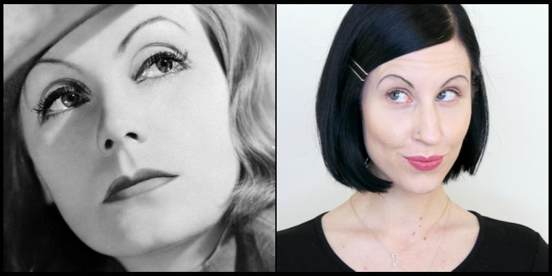 sobrancelhas em 1930 Slim e arredondada
