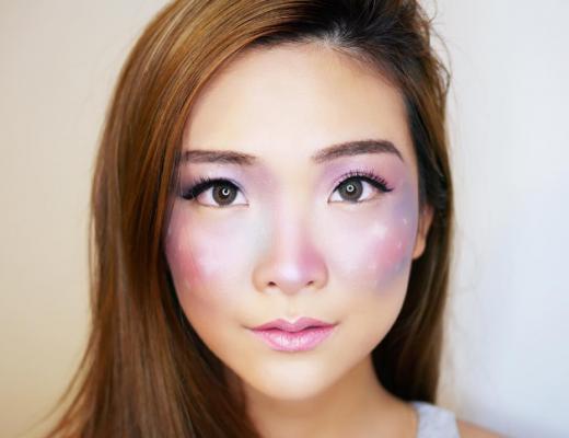 tendência em beleza  sardas galáticas  Galaxy Freckles