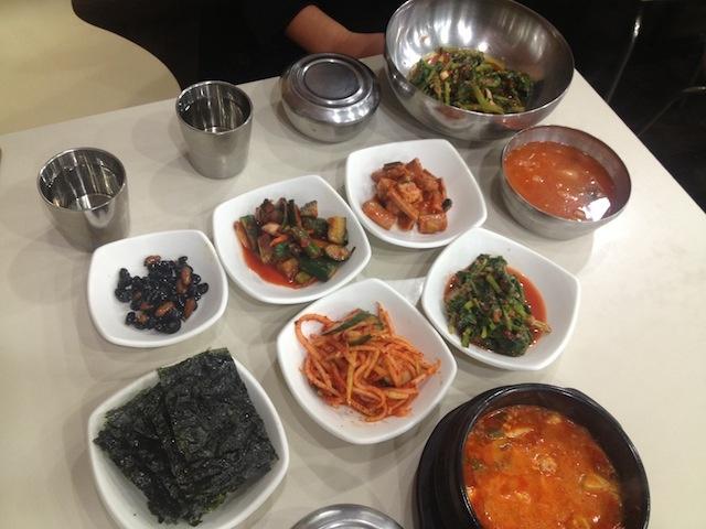 Café da manhã coreano