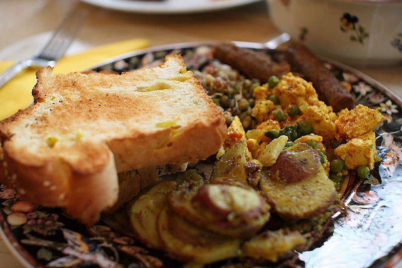 Café da manhã francês