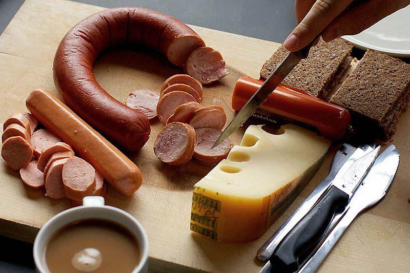 Café da manhã no Alasca