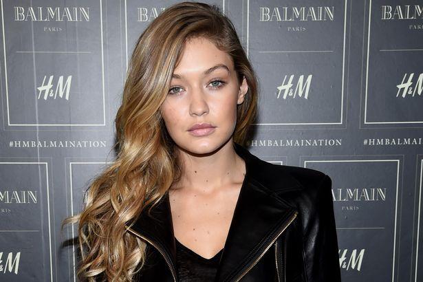 Gigi Hadid Strobing Hair