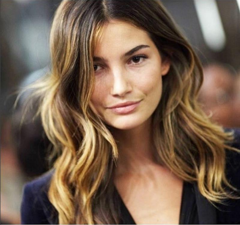 Strobing Hair nova coloração para cabelos tendência 9