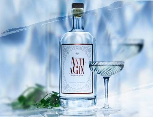 anti a-gin primeiro gin anti envelhecimento do mundo