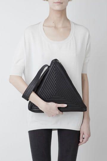 bolsa triângulo - Salir de lo obvio con bolsos diferentes y divertidos